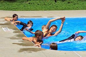 Emma swim lesson